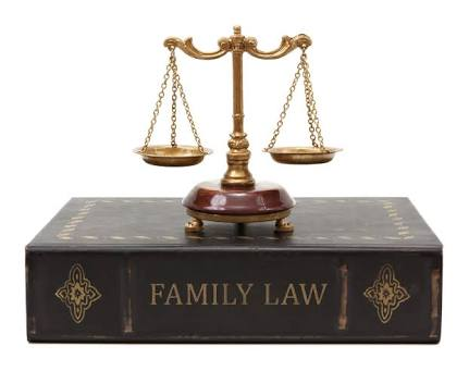 Family Law Book and Balance