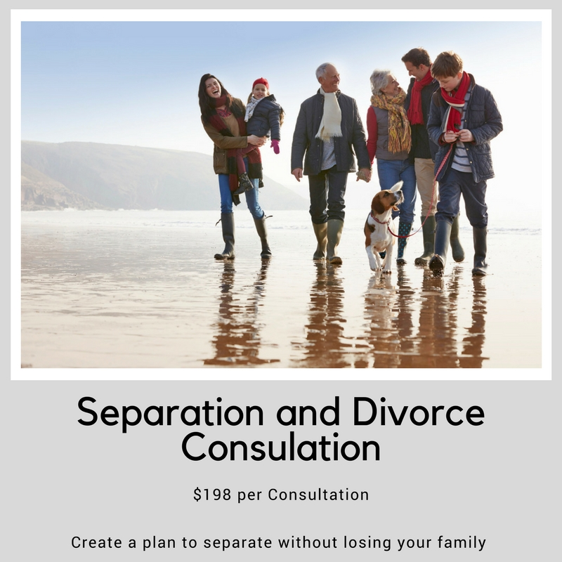 The confusion of separation and divorce