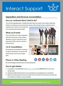 Separation and Divorce Consulation
