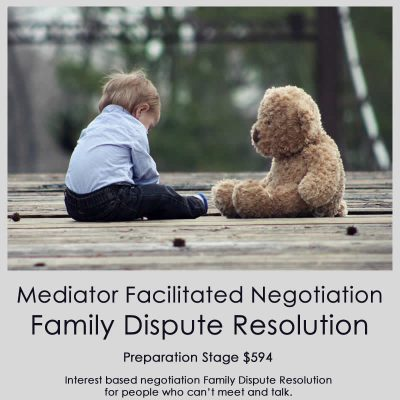 Mediator Facilitated Negotiation