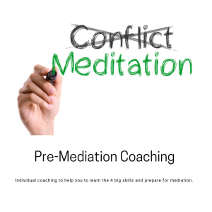 Pre-Mediation Coaching