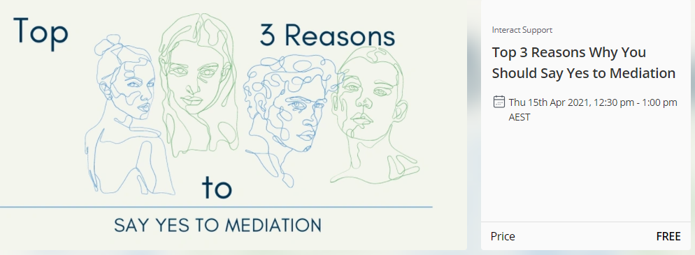 Top 3 Reasons to Say Yes to Mediation